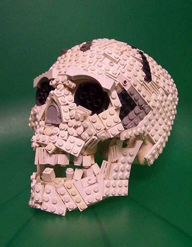 Lego sculptures
