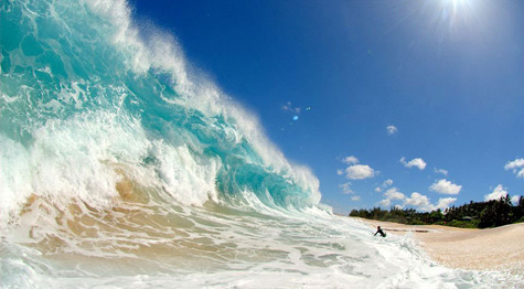 Wouldn't want to be caught in this wave!