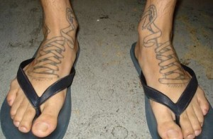 Shoelace Tattoos